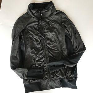 lululemon Reversible Cool Down Jacket Zip Sz 10